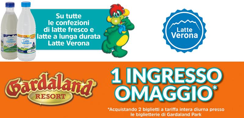Vinci Gardaland con Latte Verona 2021