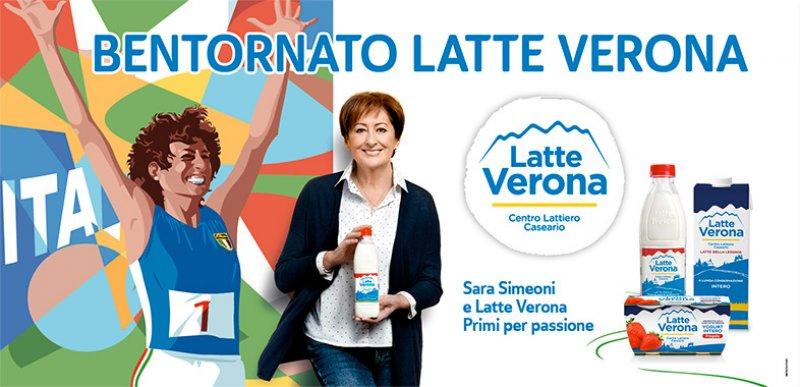 Sara Simeoni e Latte Verona Primi per passione